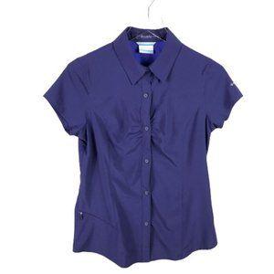 Columbia Women Omni Shade Sun Protect Button Shirt